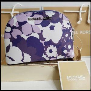MIchael Kors Woman Travel Pouch Zip Cosmetic Bag